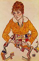 Portrait of the Artist-s Wife, 1917, schiele