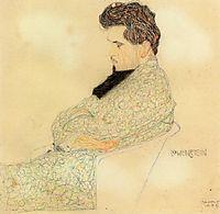 Portrait of the Composer Arthur Lowenstein, 1909, schiele