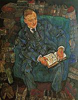 Portrait of Dr. Hugo Koller, 1918, schiele