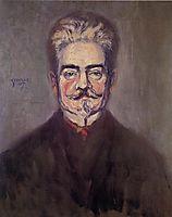 Portrait of Leopold Czihaczek, 1907, schiele