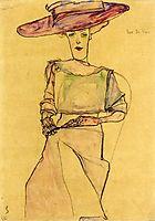 Portrait of Madame Dr. Horak, 1910, schiele