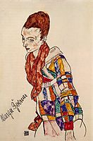 Portrait of Marga Boerner, 1917, schiele