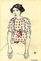 Portrait of Miss Waerndorfer, 1913, schiele
