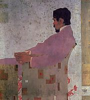 Portrait of the Painter Anton Peschka, 1909, schiele