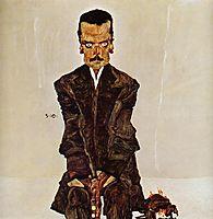 Portrait of the Publisher Eduard Kosmack, 1910, schiele