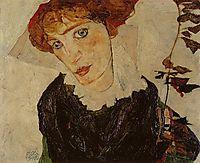 Portrait of Valerie Neuzil, 1912, schiele