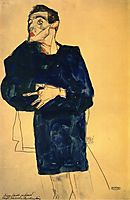 Rufer, 1913, schiele