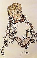 Sarena Lederer, 1917, schiele
