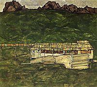 Sawmill, 1913, schiele