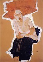 The Scornful Woman, 1910, schiele