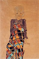 Seated Girl, 1910, schiele