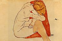 Seated Woman, 1913, schiele