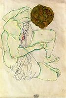Sitting Woman, 1914, schiele