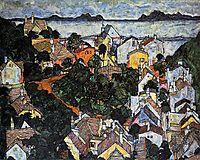 Summer Landscape, Krumau, 1917, schiele