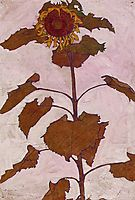 Sunflower, 1909, schiele