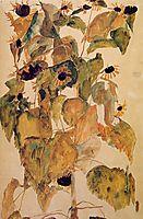 Sunflowers, 1911, schiele