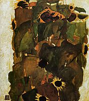 Sunflowers, 1911, schiele