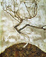 A Tree in Late Autumn, 1911, schiele