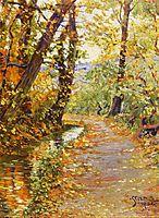 Winding Brook, 1906, schiele