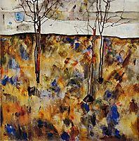 Winter Trees, 1912, schiele