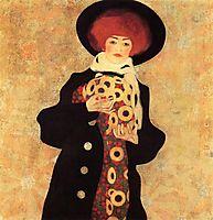 Woman with Black Hat, 1909, schiele