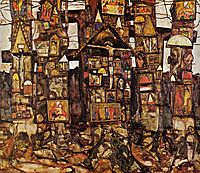 Woodland Prayer, 1915, schiele