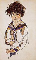 Young Boy, 1918, schiele
