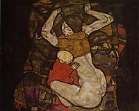 Young Mother, 1914, schiele