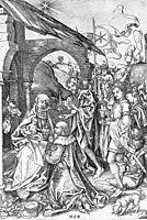 Adoration of the Magi, 1475, schongauer