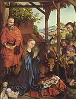Adoration of the Shepherds, c.1480, schongauer