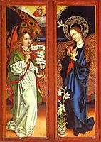Annunciation, schongauer