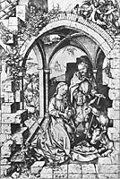 Birth of Jesus, 1470, schongauer
