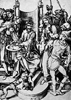 Christ before Pilate, schongauer