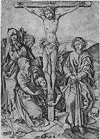 Crusifixion, schongauer