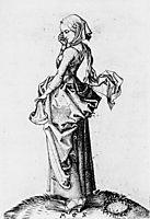 The Fifth Foolish Virgin, 1483, schongauer