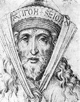 Head of a high priest, schongauer