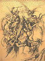 Holy Antonius, 1470, schongauer