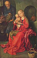 The Holy Family, schongauer
