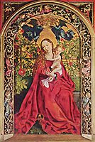 Madonna of the Rose Bower, 1473, schongauer