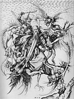 The Temptation of St. Anthony , schongauer