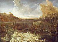 Mountainous landscape, seghers