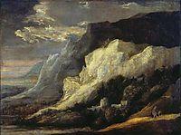 Rocky landscape, seghers