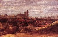View of Brussels from the North East, 1625, seghers