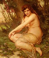 The Forest Nymph, seignac