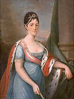 Retrato de D. Carlota Joaquina, Rainha de Portugal, 1802, sequeira