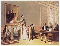 Retrato da Família do 1º Visconde de Santarém, 1816, sequeira