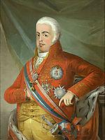 Retrato de D. João VI, Rei de Portugal, 1806, sequeira