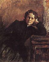 By the Window. Portrait of Olga Trubnikova, 1885, serov