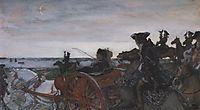 Catherine II Setting out to Hunt with Falcons, 1902, serov