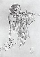 Eugene Ysaye, 1903, serov